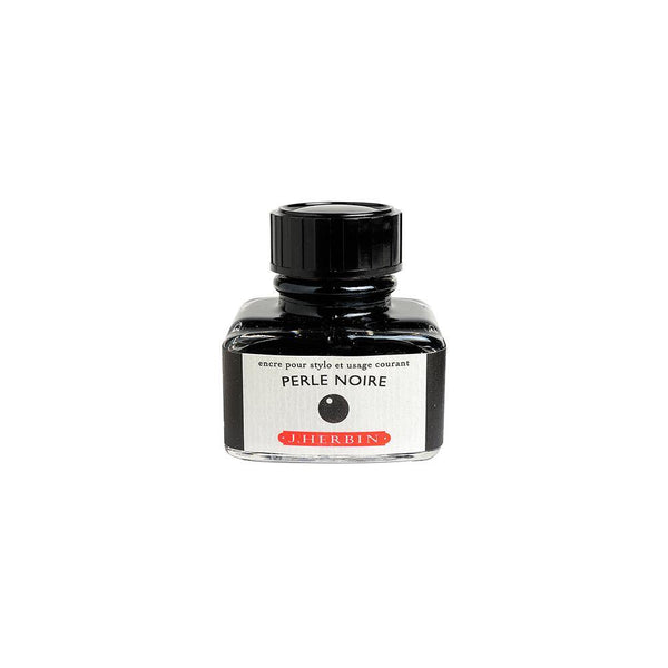 Herbin Perle Noir Ink Bottle 30ml - Laywine's