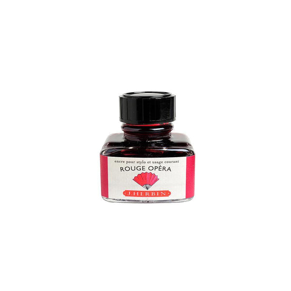 Herbin Rouge Opera Ink Bottle 30ml - Laywine's