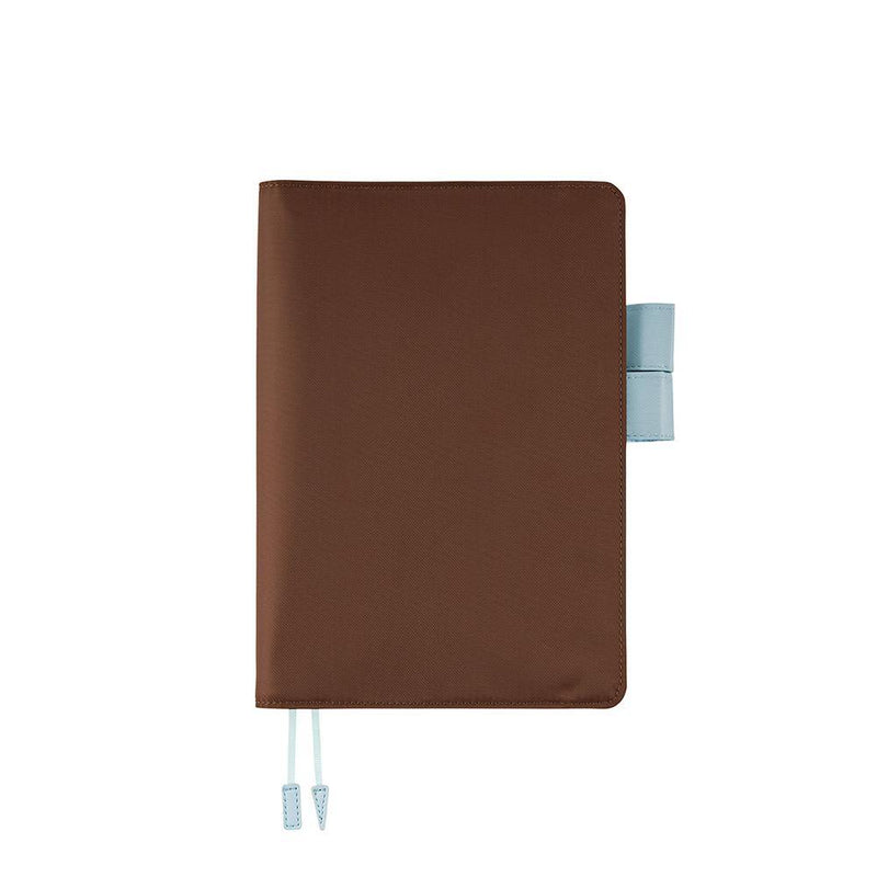 Hobonichi Techo Cousin and Cover, Chocolate, 2021 - Laywine's