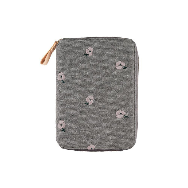 Hobonichi Techo Cousin and Cover, minä perhonen: ohayo (gray), 2021 - Laywine's