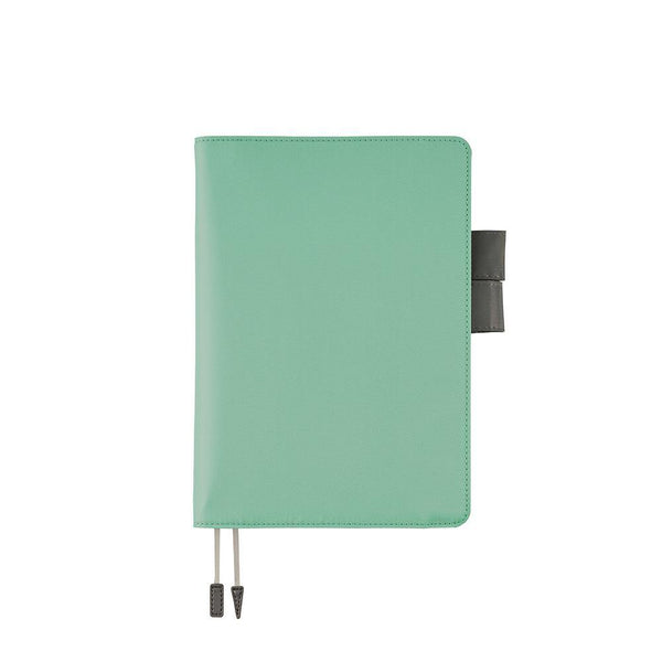 Hobonichi Techo Cousin and Cover, Turquoise, 2021 - Laywine's