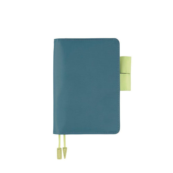Hobonichi Techo Planner and Cover, Blue/Pistachio, 2021