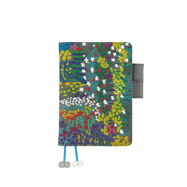 Hobonichi Techo Planner and Cover, Kodue Hibino: kadan (Gray), 2021 - Laywine's