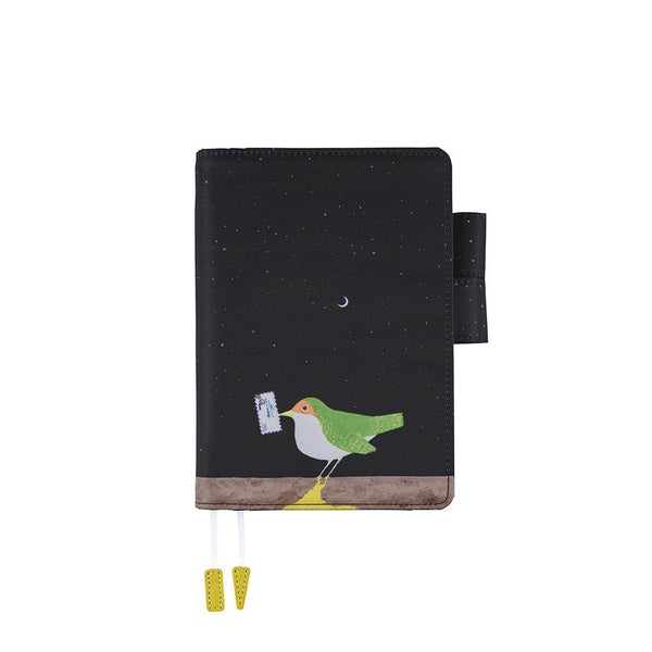 Hobonichi Techo Planner and Cover, Makoto Wada: Time-Traveling Bird, 2021