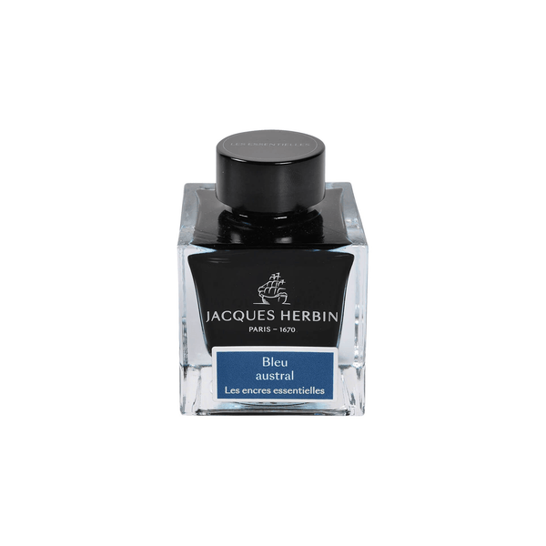 Jacques Herbin Bleu Austral Ink Bottle 50ml