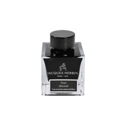 Jacques Herbin Noir Abyssal Ink Bottle 50ml - Laywine's