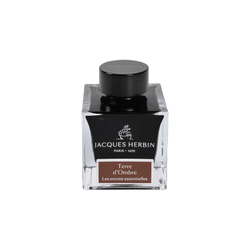 Jacques Herbin Terre d'Ombre Ink Bottle 50ml - Laywine's