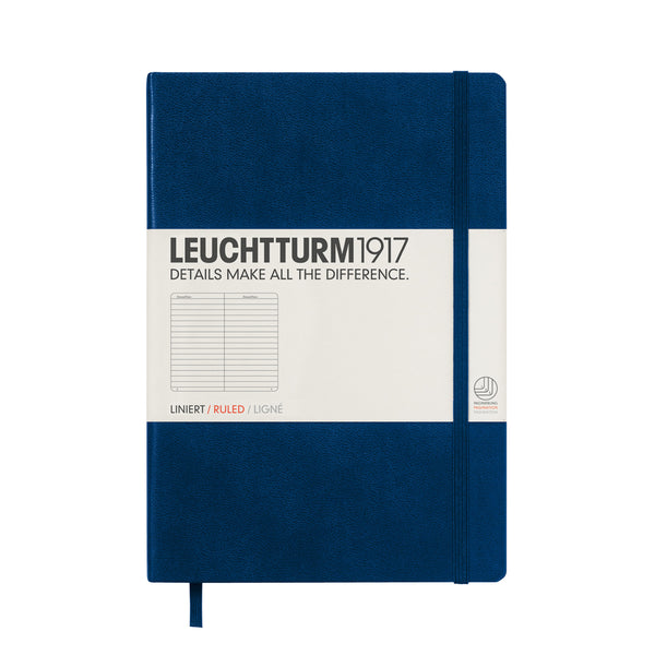 Leuchtturm1917 Medium Ruled Hardcover Notebook
