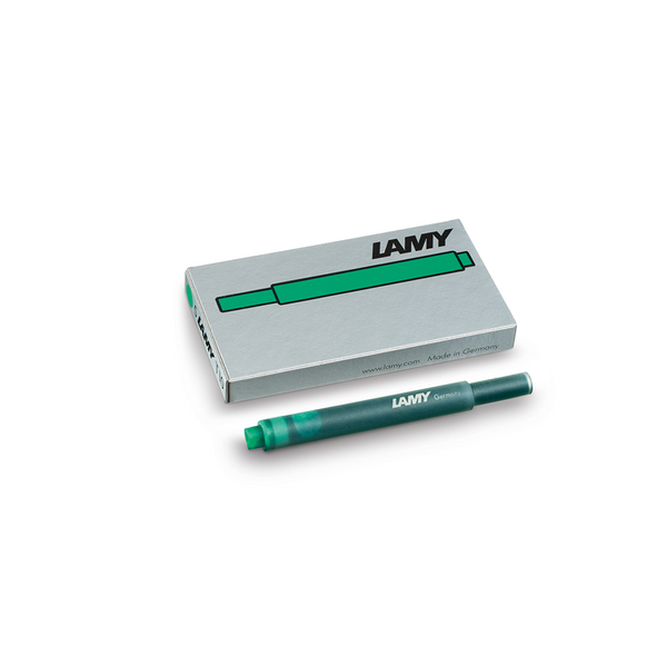 Lamy T10 Green Ink Cartridges - Laywine's