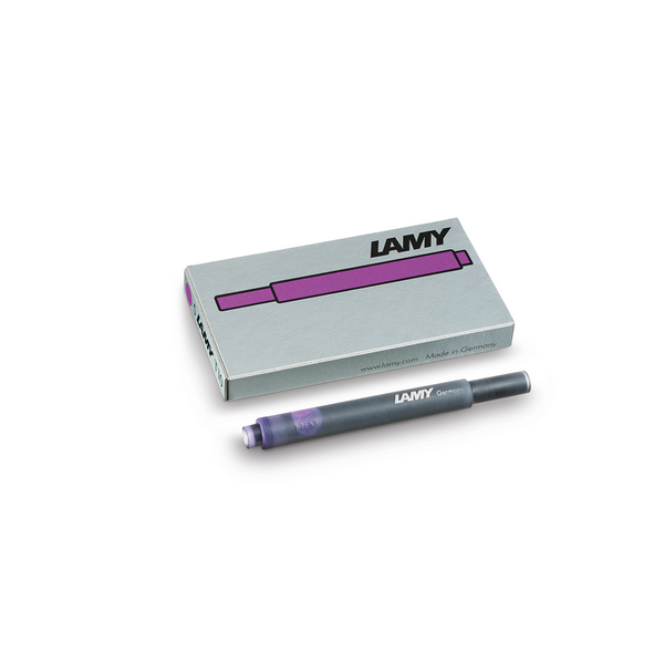 Lamy T10 Violet Ink Cartridges - Laywine's
