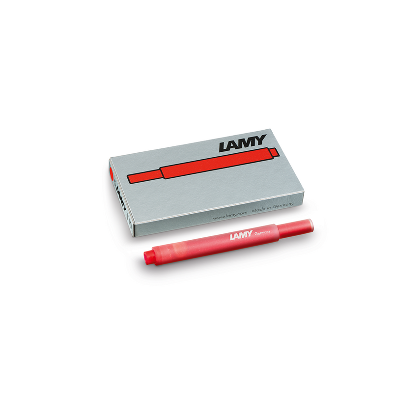 Lamy T10 Red Ink Cartridges - Laywine's