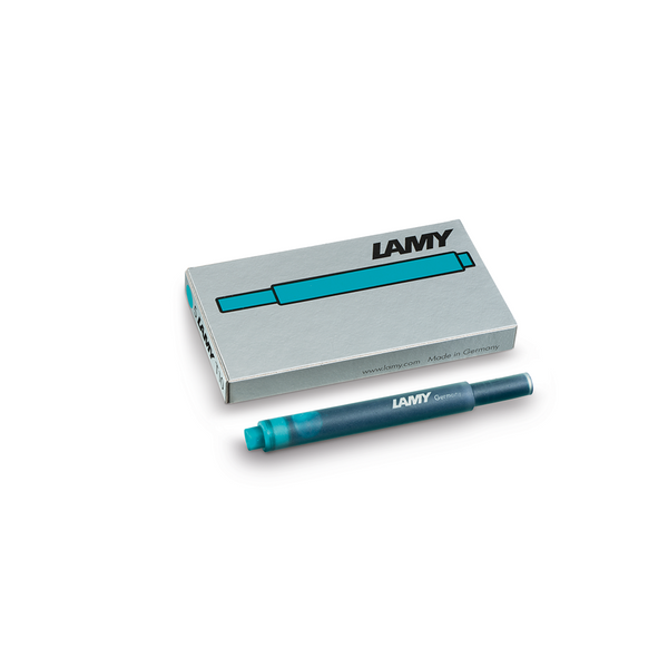 Lamy T10 Turquoise Ink Cartridges - Laywine's