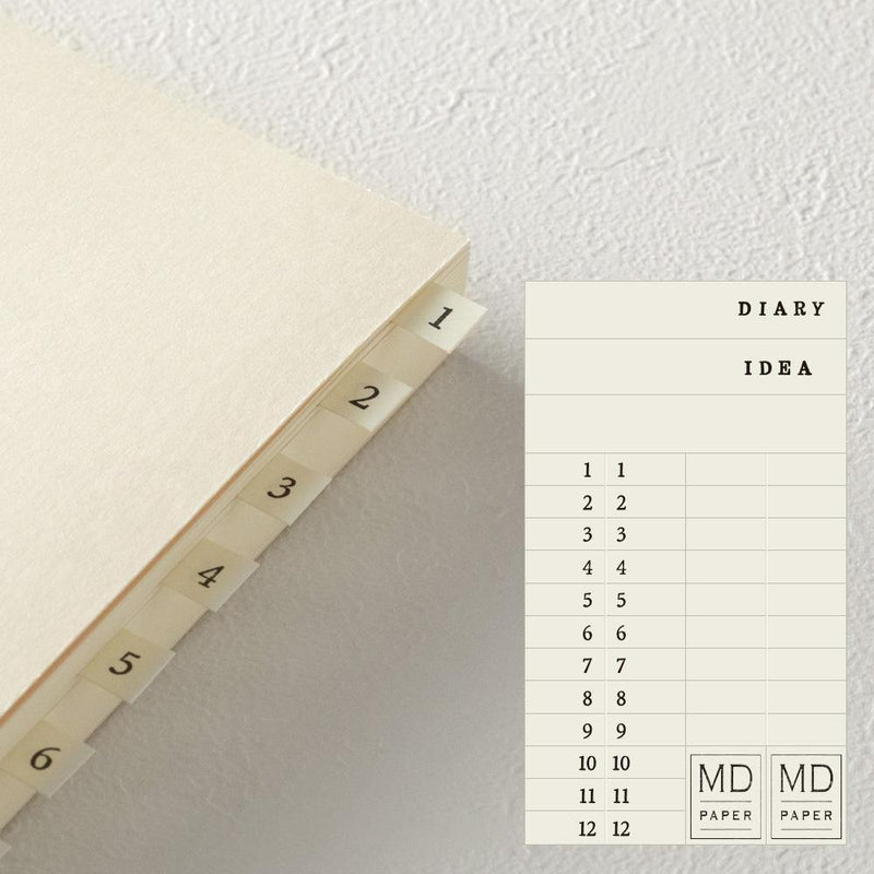 Midori MD A5 Notebook Journal Codex 1 Day per Page - Laywine's