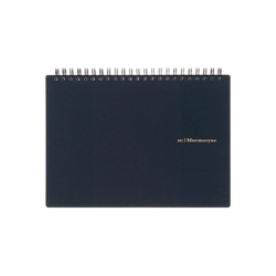 Mnemosyne A5 Wiro Notebook 5mm Grid - Laywine's