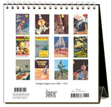 Found Image Press Desk Calendar, Outer Space, 2021 - Laywine's