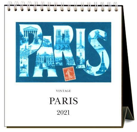 Found Image Press Desk Calendar, Paris, 2021