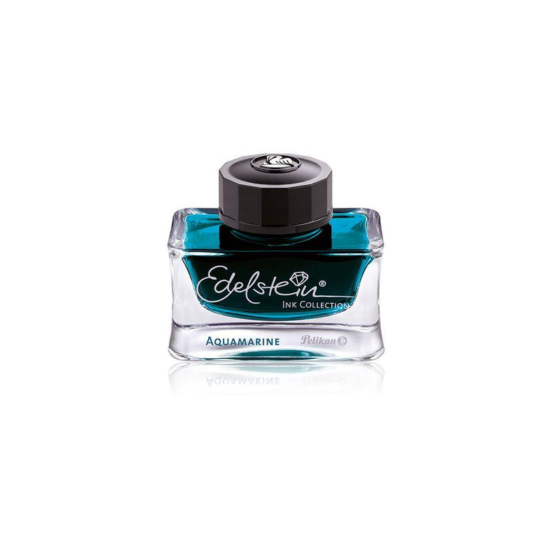 Pelikan Edelstein Aquamarine Bottled Ink 50ml - Laywine's