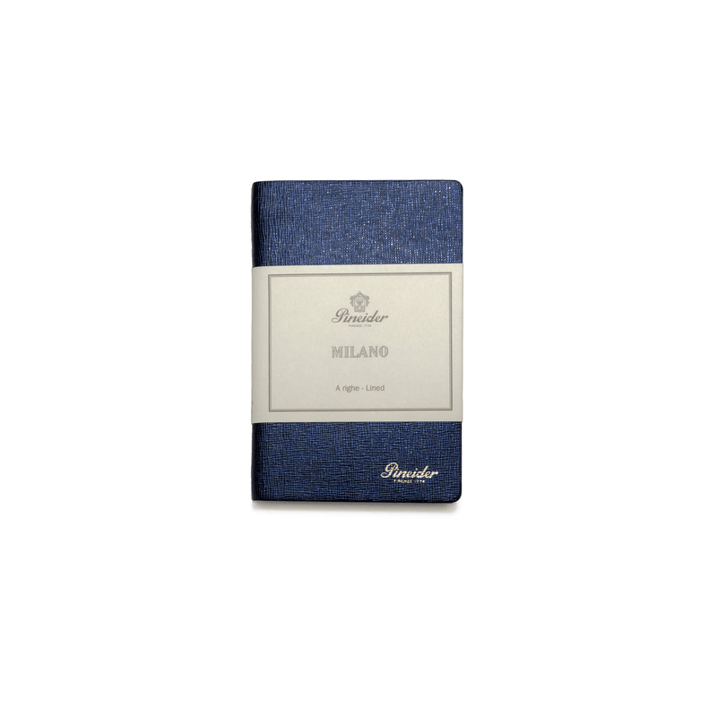 Pineider Milano Leather Laid Notebook Small - Laywine's