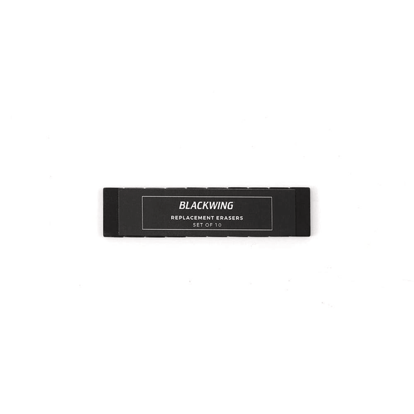 Blackwing Replacement Erasers Black - Laywine's