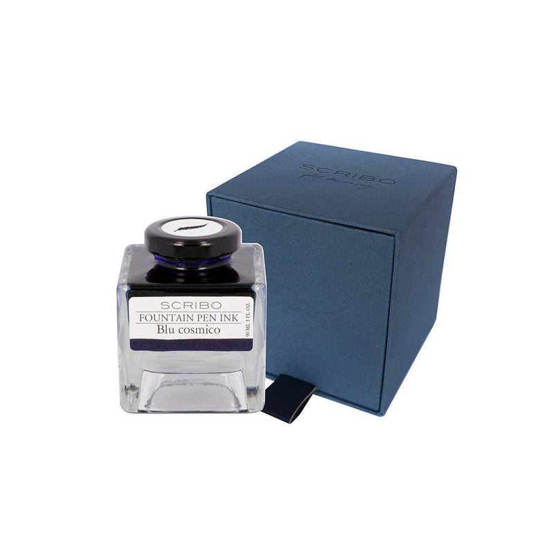 Scribo Blu Cosmico Ink Bottle 90ml - Laywine's