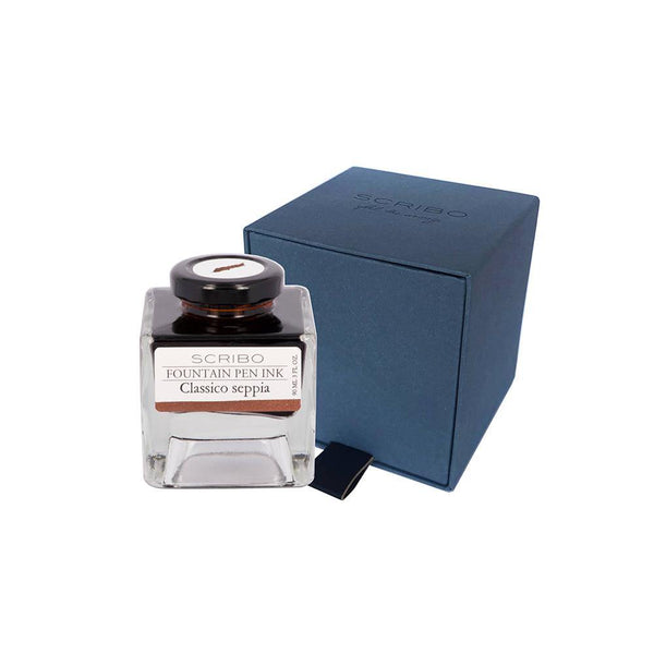 Scribo Classico Seppia Ink Bottle 90ml - Laywine's