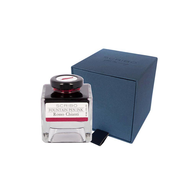 Scribo Rosso Chianti Ink Bottle 90ml - Laywine's