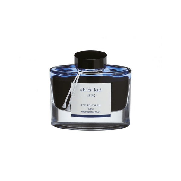 Pilot Iroshizuku Ink Deep Sea (Shin-kai) 50ml - Laywine's