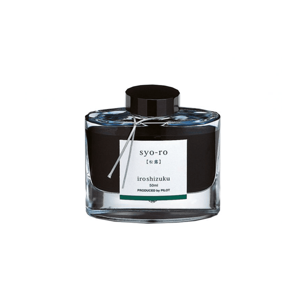 Pilot Iroshizuku Ink Dew on Pine Tree (Syo-ro) 50ml - Laywine's