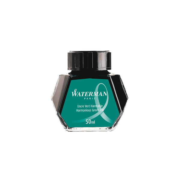 Waterman Harmonious Green Ink Bottle 50ml - Laywine's