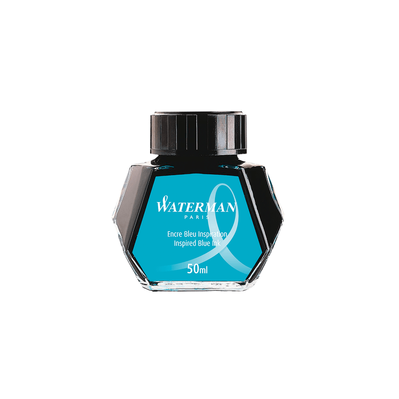 Waterman Inspired Blue Ink Bottle 50ml - Laywine's