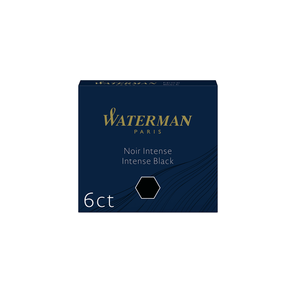 Waterman Intense Black Ink Cartridges - Laywine's