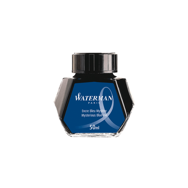 Waterman Mysterious Blue Ink Bottle 50ml - Laywine's
