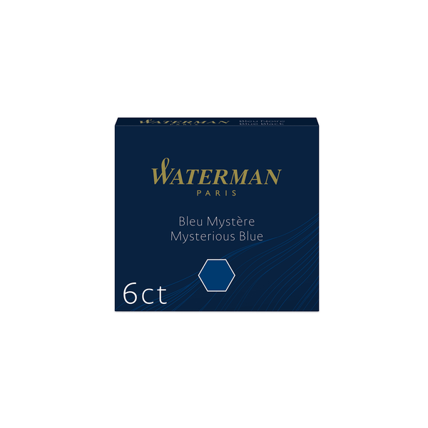 Waterman Mysterious Blue Ink Cartridges - Laywine's