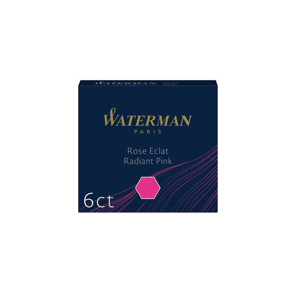 Waterman Radiant Pink Ink Cartridges - Laywine's