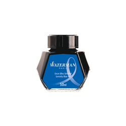 Waterman Serenity Blue Ink Bottle 50ml - Laywine's