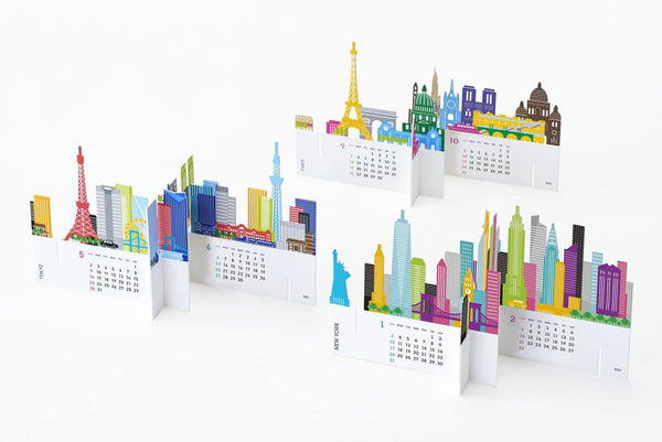 Good Morning City Desk Calendar 2021 - Laywine's