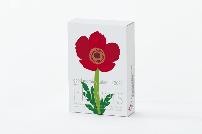 Good Morning Flowers Desk Calendar 2021 - Laywine's