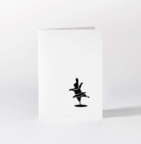 HAM Ballet Dancing Rabbit Card - Laywine's