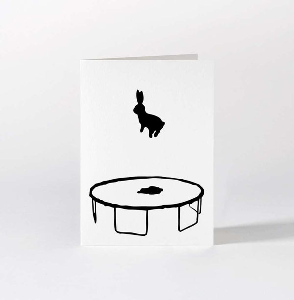 HAM Bouncing Rabbit Card