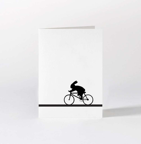 HAM Racing Bike Rabbit Card