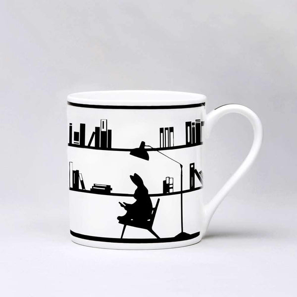 HAM Reading Rabbit Mug - Laywine's
