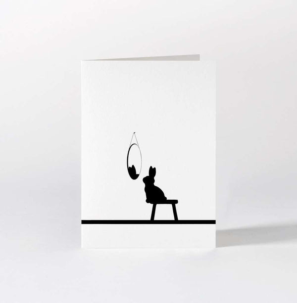 HAM Reflective Rabbit Card