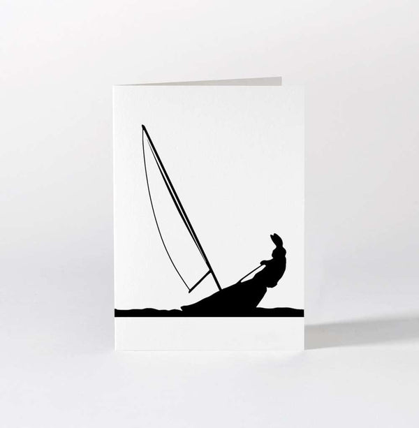 HAM Sailing Rabbit Card