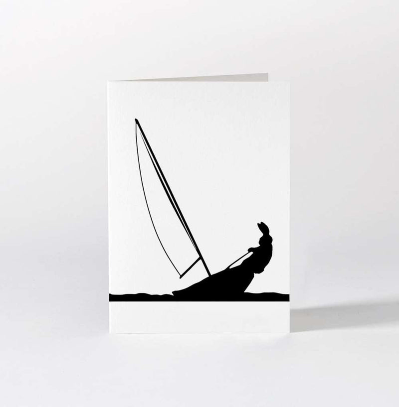 HAM Sailing Rabbit Card - Laywine's