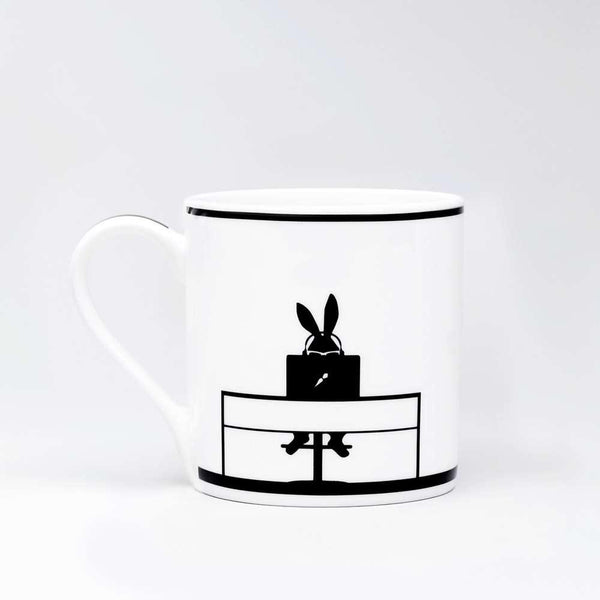 HAM Working Rabbit Mug - Laywine's