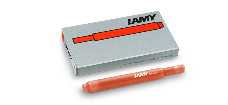 Lamy T10 Bronze Ink Cartridges - Laywine's