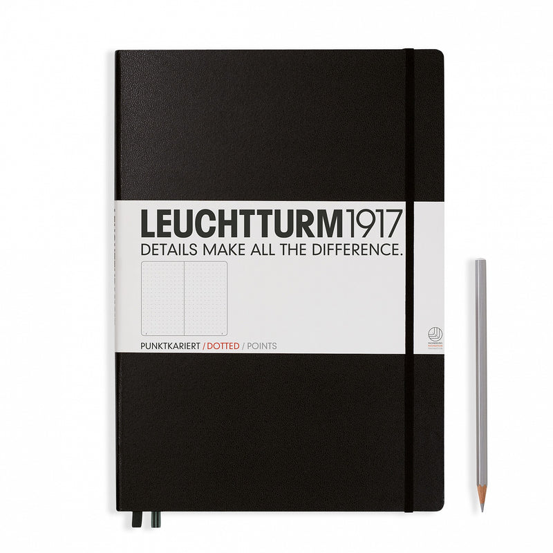 Leuchtturm1917 Master Classic Dots Hardcover Notebook - Laywine's