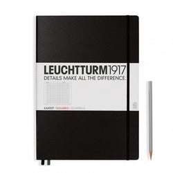 Leuchtturm1917 Master Classic Squared Hardcover Notebook - Laywine's