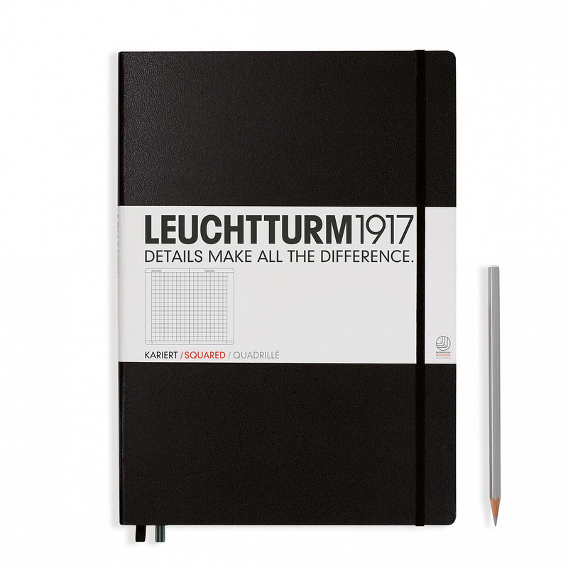 Leuchtturm1917 Master Classic Squared Hardcover Notebook