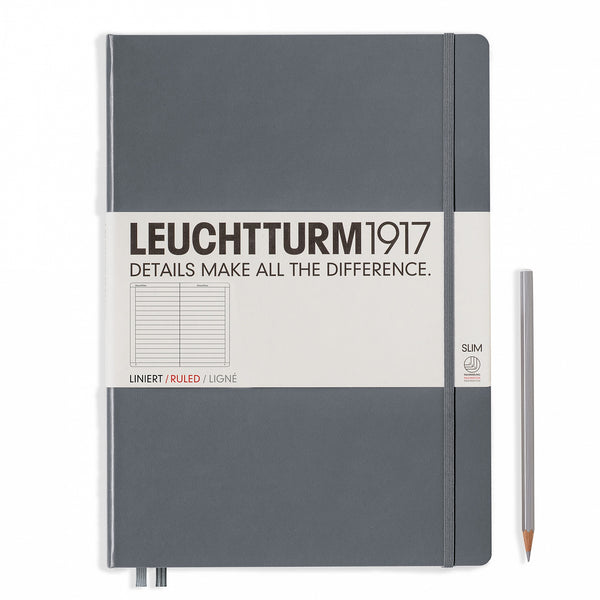 Leuchtturm1917 Master Slim Ruled Hardcover Notebook